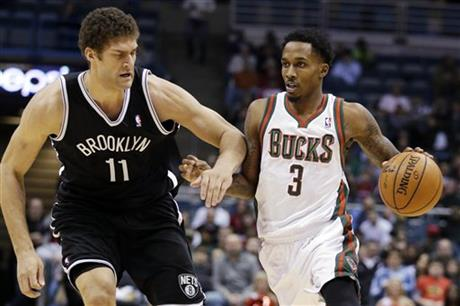Brandon Jennings, Brook Lopez