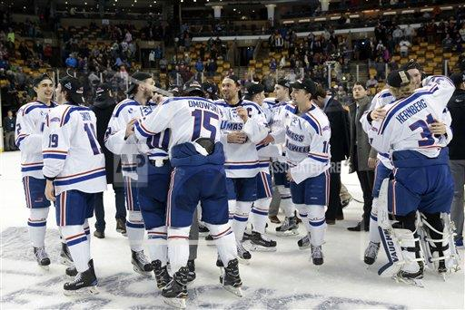 SPWIRE AP S HKC MA United States 277975 COLLEGE HOCKEY: MAR 18 Hockey East Championship - UMass Lowell v Boston College