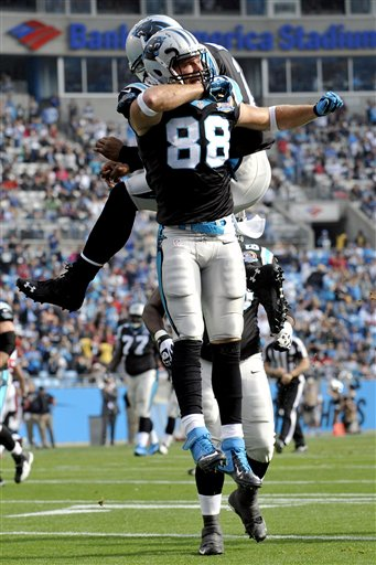 Cam Newton, Greg Olsen