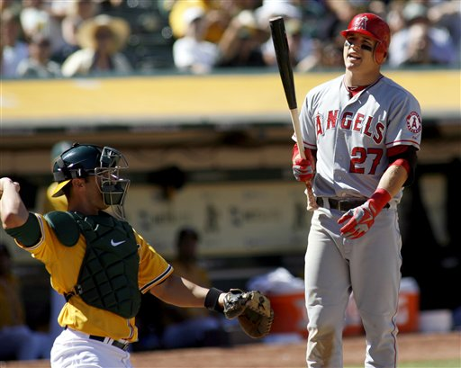 George Kottaras, Mike Trout