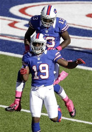 Donald Jones, Stevie Johnson