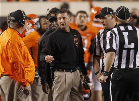 Mike Gundy, Bill Young
