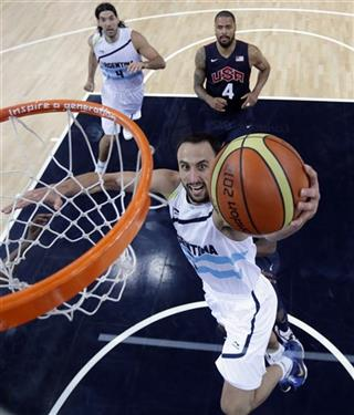 Manu Ginobili,  Luis Scola,Tyson Chandler