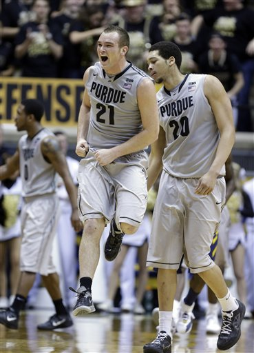West Virginia Purdue Basketball