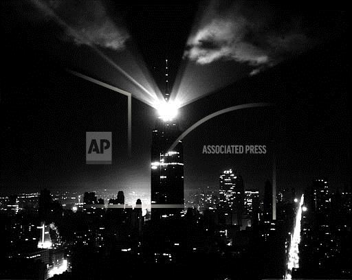 Associated Press Domestic News New York United States NYC EMPIRE STATE BUILDING BEACON