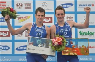 Alistair Brownlee ,Jonathan Brownlee