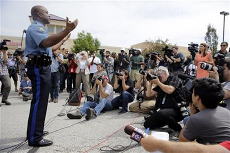 wake of the fatal shooting of michael brown by a police officer on aug