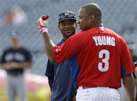 Ben Francisco, Delmon Young