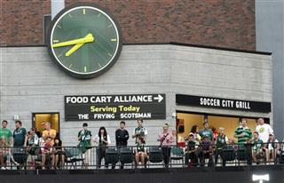 MLS Timbers Food Carts Soccer