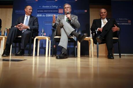 Jeb Bush, Doug DeVos, Ed Rendell