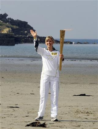 Britain Olympic 2012 Torch