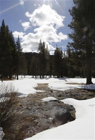Sierra Snow Pack