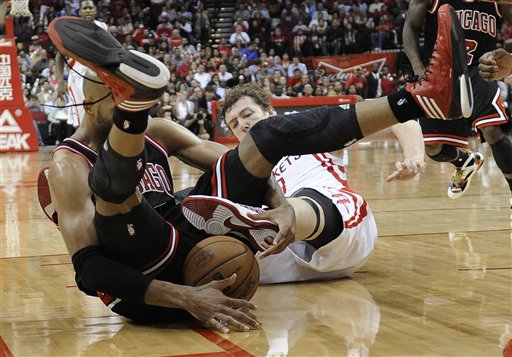 Bulls Rockets Basketball