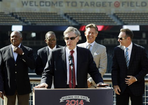 Bud Selig, Rod Carew, Roy Smalley, Rod Carew, Paul Molitor