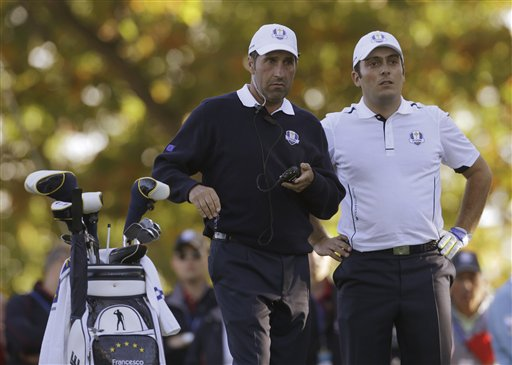 Jose Maria Olazabal, Francesco Molinari