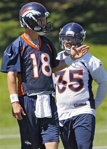 Peyton Manning,  Lance Ball