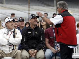 Jim Nabors, Marion Andretti, Jim Harbaugh