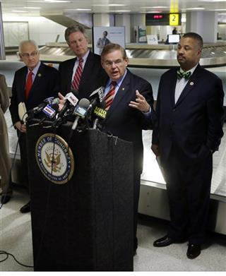 Robert Menendez, Frank Pallone,  Bill Pascrell, Donald Payne