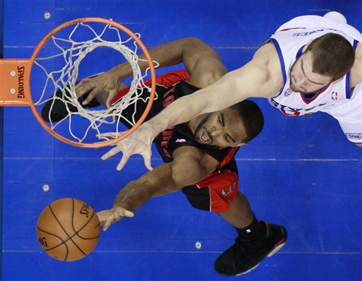 Spencer Hawes, Alan Anderson