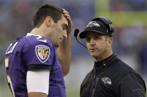 Joe Flacco, John Harbaugh