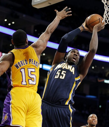 Metta World Peace, Roy Hibbert