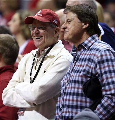 Jack Harbaugh, Tony La Russa