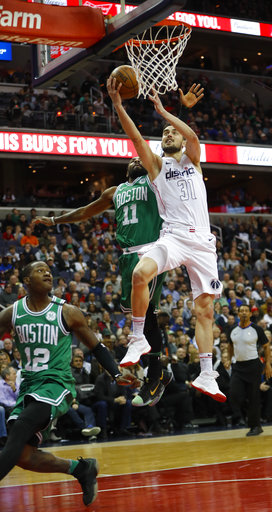 APTOPIX Celtics Wizards Basketball