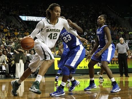 Brittney Griner, Samarie Walker, DeNesha Stallworth