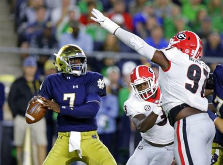 Brandon Wimbush, John Atkins