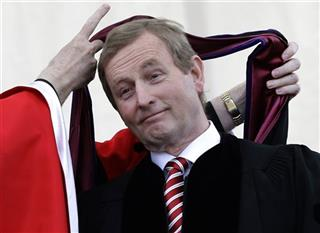 Enda Kenny, William P. Leahy