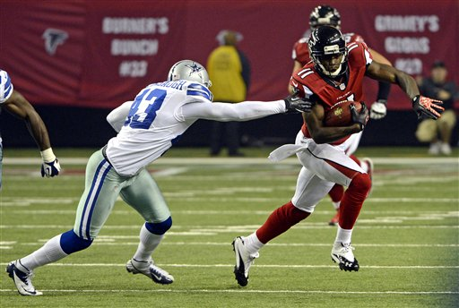 Julio Jones, Gerald Sensabaugh