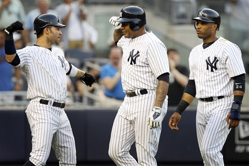 Andruw Jones, Robinson Cano,  Nick Swisher