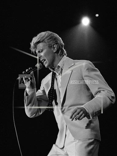 AP CA USA DAVID BOWIE