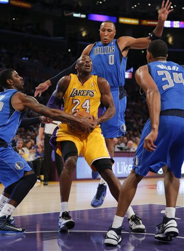 Kobe Bryant, Shawn Marion, Brandan Wright, O.J. Mayo