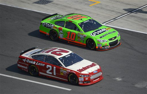 Danica Patrick, Trevor Bayne
