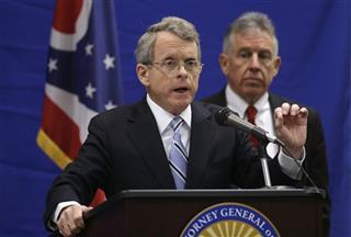 Tim McGinty, Mike DeWine