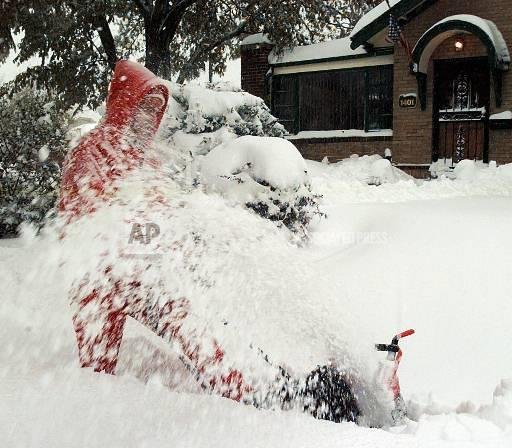 Associated Press Domestic News Colorado United States Weather SNOWSTORM