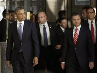 Barack Obama, Enrique Pena Nieto