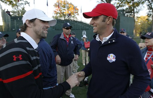 Michael Phelps, Dustin Johnson