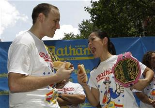 Joey Chestnut, Sonya Thomas