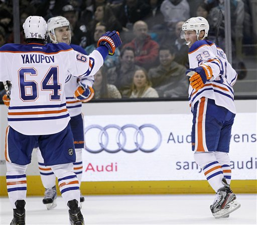 Sam Gagner, Nail Yakupov