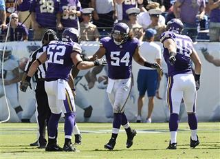 Eric Kendricks, Chad Greenway, Rhett Ellison
