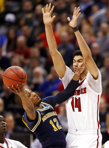 Michigan Louisville Basketball
