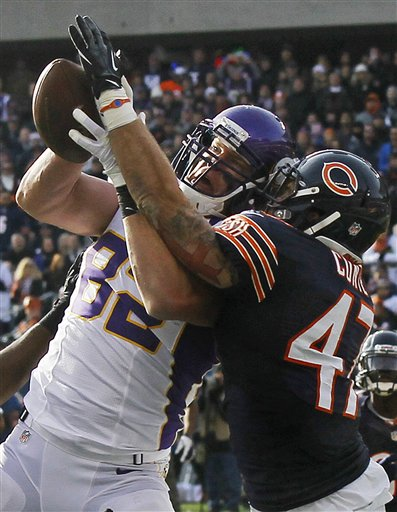 Chris Conte, Kyle Rudolph