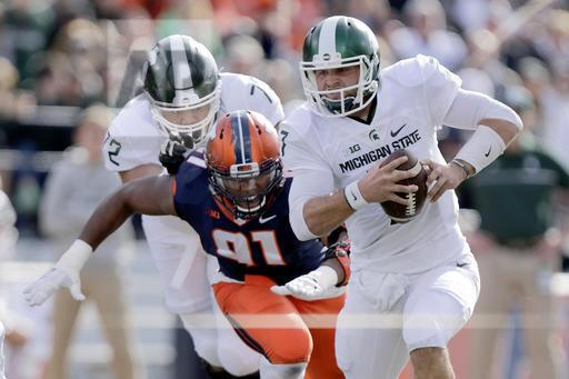 Michigan St Illinois Football