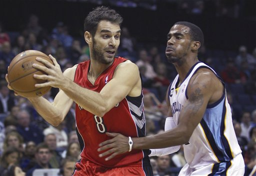 Mike Conley, Jose Calderon