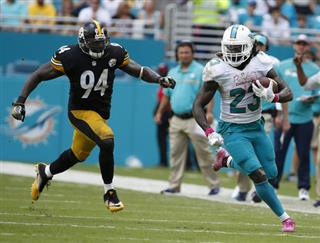 Jay Ajayi, Lawrence Timmons