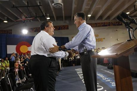 Mitt Romney, Chris Christie