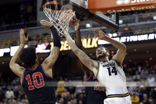Georgia Missouri Basketball