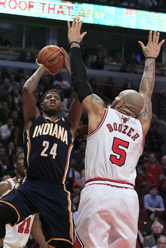 Paul George, Carlos Boozer